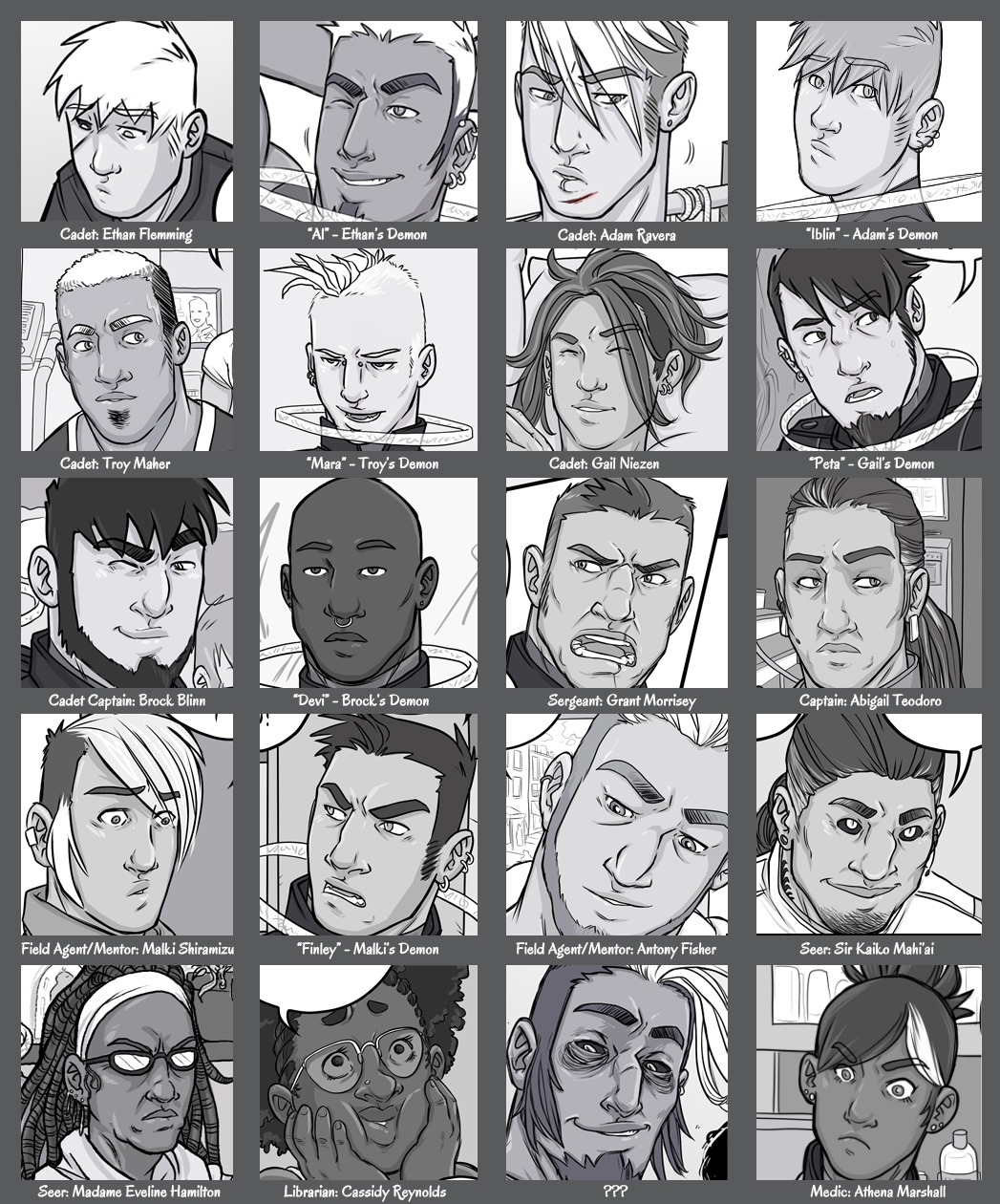 character-grid